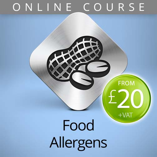 Food Allergens Online Course