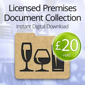licensed premises document collection