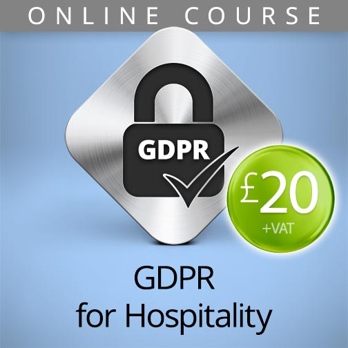 GDPR for hospitality online course