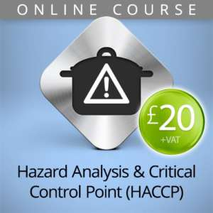 hazard analysis HACCP online course