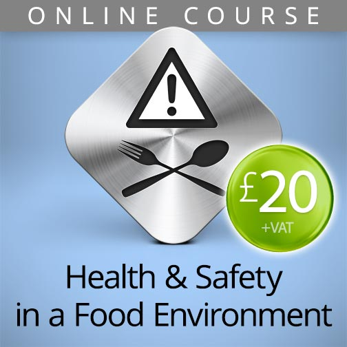 health and safety food online course